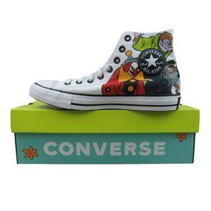 Converse x Scooby Doo CTAS HI Top Graphic Sneakers